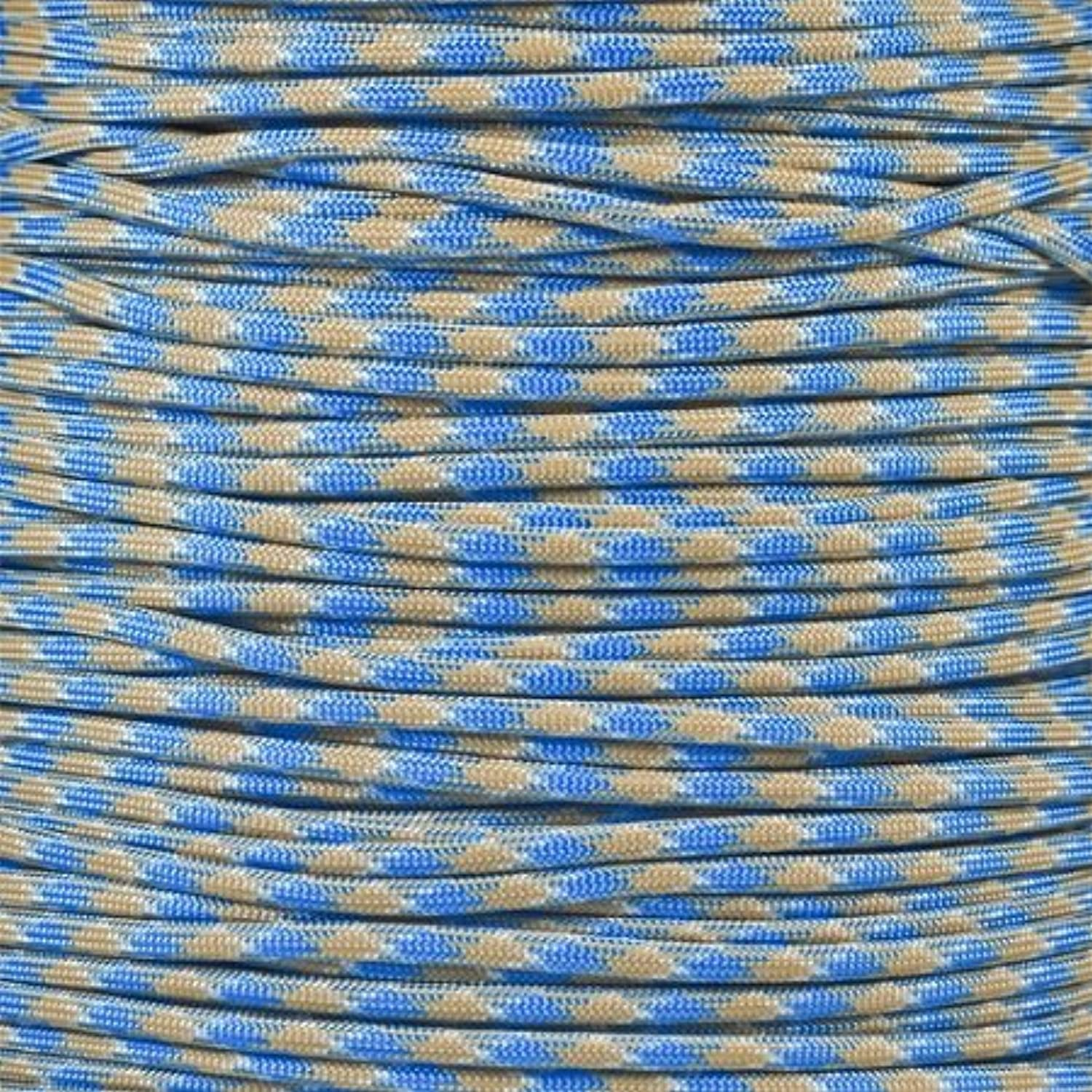 Paracord Planet 7Strand 4mm Paracord Beading Cord (Selection of Over 250 colors ) Choose from 50, 100, 250 Foot Lengths