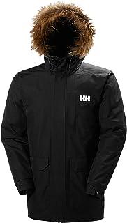 Helly Hansen Men's Dubliner Parka 100 Gram Primaloft Insulated Waterproof Windproof Breathable Rain Coat with Hood, 990 Black, 5X-Large