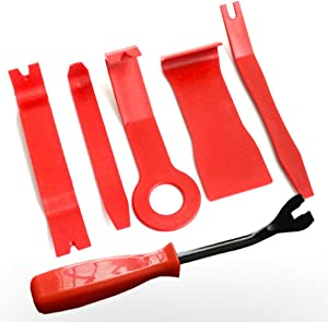 Pieces Car Trim Removal Tools  Car Trim Removal Tool Panel Removal Tool kit for Removing Door Panel Audio Refitting Scratch Upholstery Prying Kit