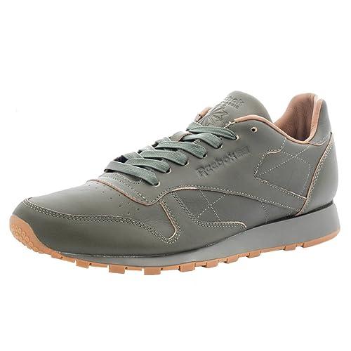 e4a49529949 Reebok Cl Leather Lux Athletic Men s Shoes Size