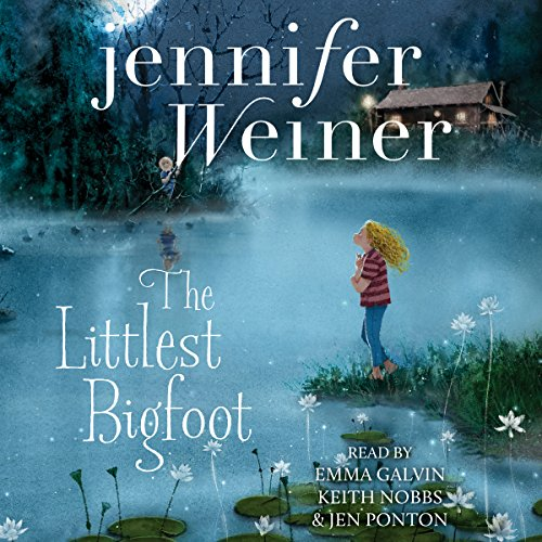 Page de couverture de The Littlest Bigfoot