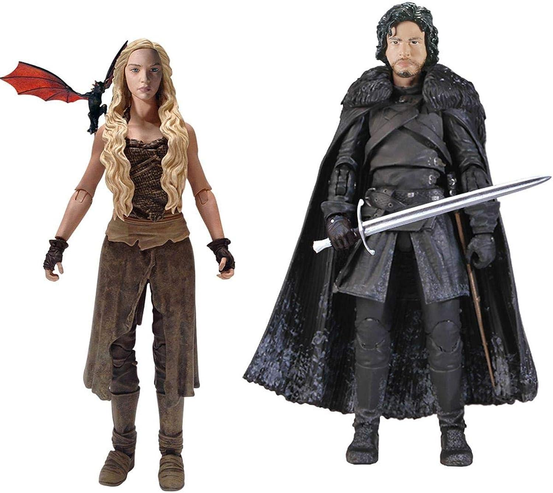 Obtén lo ultimo Funko Juego of Thrones 6  Legacy Acción Acción Acción Figura Bundle  Daenerys & Jon Snow  ventas al por mayor