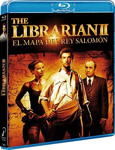 El Bibliotecario. El Mapa Del Rey Salomón Blu-Ray [Blu-ray]