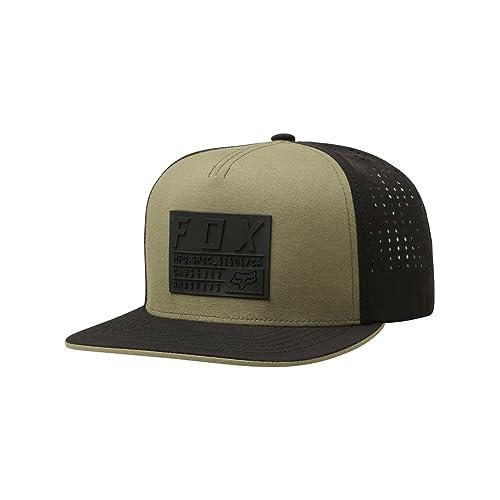 the latest 1bb18 ec7a5 Fox Racing Men s Redplate Tech Snapback Adjustable Hats