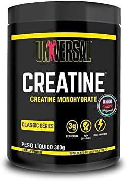 Creatine Monohydrate 300g Universal Nutrition (Creatina Monohidradata)