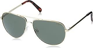 LE SPECS Unisex Halo LSP1902144 Aviator Sunglasses,Gold,59 mm