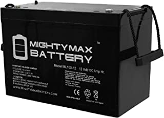 ML100-12 12V 100AH SLA Battery - Mighty Max Battery Brand Product