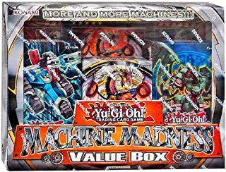 Yu-Gi-Oh Machine Madness Value Box 3 Structure Deck + 3 Jumbo Card (Cyber Dragon Revolution Machina Mayhem Machine Revolt)