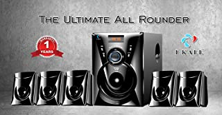 I KALL TA-111 Portable Home Audio Speaker (with USB Port and Aux Cable)-Black (5000 Watts PMPO)