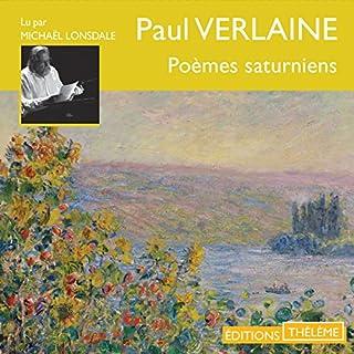Couverture de Poèmes saturniens