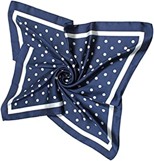 Best navy scarf with white polka dots Reviews