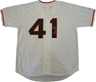 Jeremy Affeldt Autographed San Francisco Giants Cream Jersey W/PROOF, Picture of Jeremy Signing For Us, San Francisco Giants, 2010 World Series Champion, 2012 World Series Champion