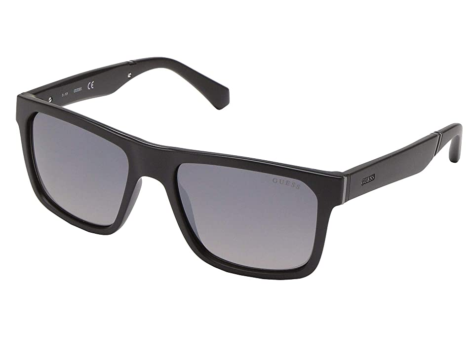 GUESS GU6906 (Matte Black/Smoke Mirror) Fashion Sunglasses
