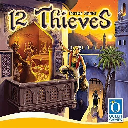 "Queen Games 10341\"" 12 Diebe Strategiespiel"