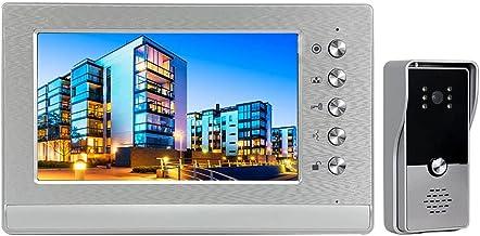 MLZWS 7 Inch Video Deurbel Deurtelefoon Intercom Voor Huisbeveiliging
