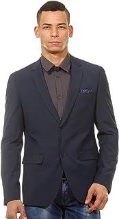 CASUAL FRIDAY Men's Blazer Black Schwarz (50003 Black) 44R