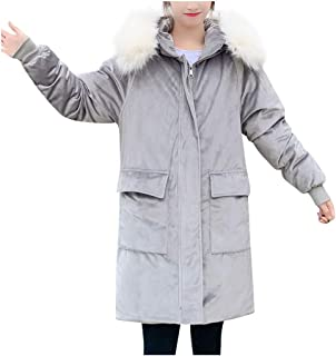 Winter Jacket Women Warm Coat Hooded Thick Loose t Long Outerwear