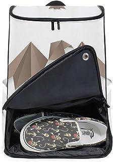 MONTOJ - Mochila Plegable de Papel para Senderismo y Viajes con Compartimento para portátil y Mochila de Camping