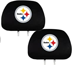 Team ProMark Sports Fan Shop Universal Bucket Seat Headrest Cover (Pittsburgh Steelers)