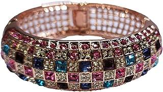 Luxury Crystal Bracelet Rose Gold Bracelet Women Jewelry Fashion Bracelet Shining