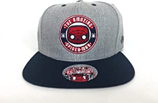 Marvel Collector Corps Limited Edition Snapback Cap- Grey Cloth Spiderman