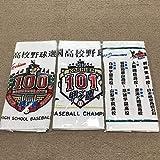 夏の高校野球 甲子園 記念タオル 第100回 第101回 2020年交流試合