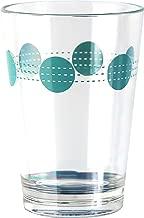 Corelle Coordinates by Reston Lloyd South Beach Acrylic Juice Glasses (Set of 6), 8 oz, Clear