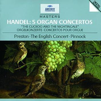 Handel: 5 Organ Concertos HWV 290, 295, 308, 309, 310