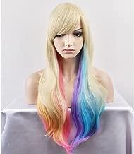 Best blonde rainbow wig Reviews
