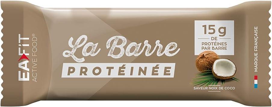 Eafit La barra - Proteína (46 g): Amazon.es: Salud y cuidado ...