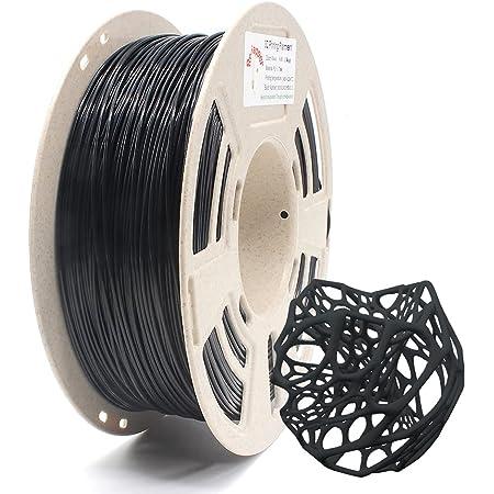 RepRapper 1kg PLAプラス (PLA+) ブラック 高強度PLAフィラメント 3Dプリンターフィラメント 1.75mm