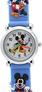Kids Wristwatch Silicone Band Watches 3D Strap Rubber...