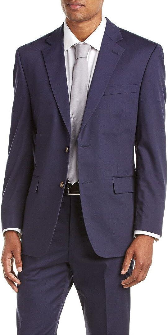 Palm Beach Men's Boone Poplin 2 Button Center Vent Suit