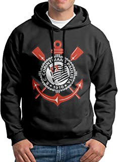 WANG Sport Club Corinthians Paulista Men's Fashion Printed Hooded Sweatshirt