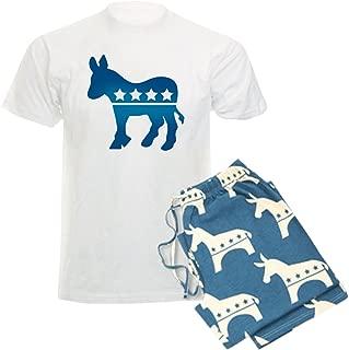 CafePress-Democrats Donkey-Unisex Novelty Cotton Pajama Set, Comfortable PJ Sleepwear