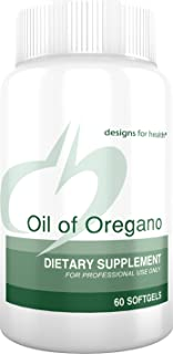 Designs for Health Oil of Oregano Softgels - 60mg High Carvacrol (60 Softgels)