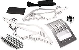 Integy RC Model Hop-ups C28449SILVER Billet Machined Chassis Kit for 1/10 Scale Rock Crawler (Axial AX10 Compatible)