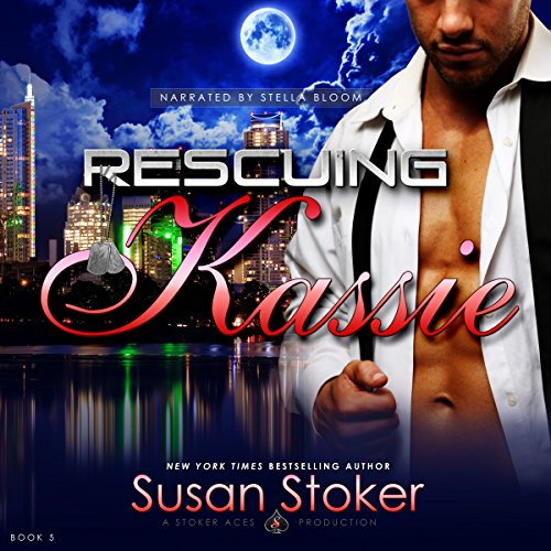Rescuing Kassie     Delta Force Heroes, Book 5              By:                                                                                                                                 Susan Stoker                               Narrated by:                                                                                                                                 Stella Bloom                      Length: 7 hrs and 32 mins     21 ratings     Overall 4.9