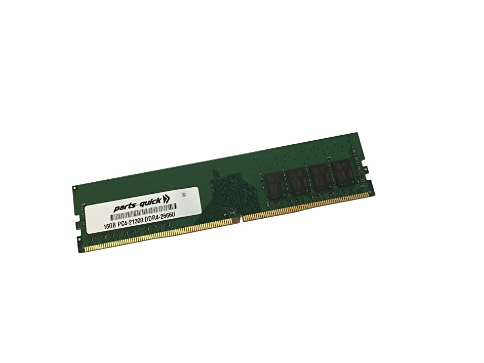 請求書しないでくださいオープニングPARTS-QUICK 16GB メモリ Gigabyte Z370 AORUS Ultra Gaming 2.0 マザーボード DDR4 PC4-21300 2666MHz 非ECC 非バッファ DIMM RAM