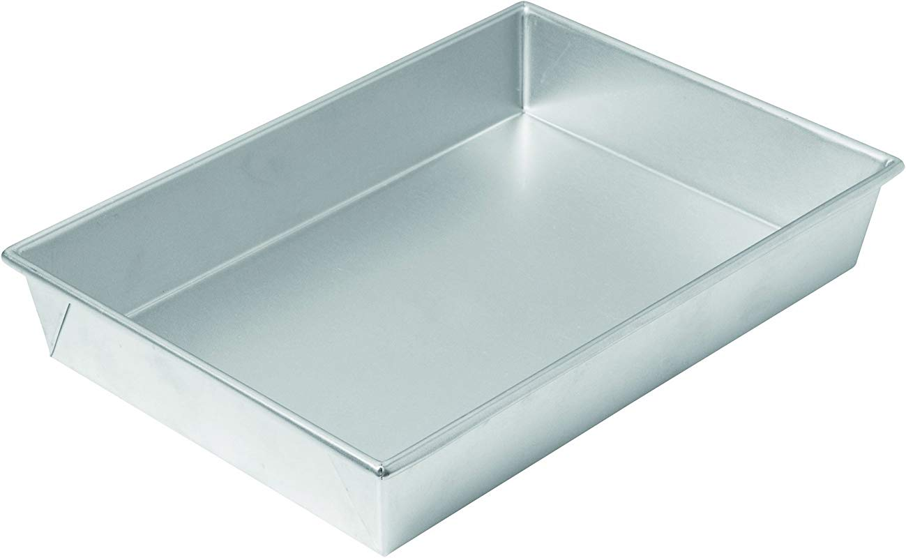 Chicago Metallic Commercial II Traditional Uncoated Bake N Roast Pan 13 By 9 By 2 1 4 Inch