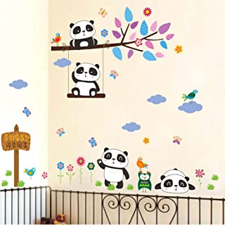 panda decals and signs
