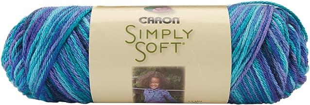 Caron Simply Soft Paints Yarn Medium Worsted Gauge 100% Acrylic - 5 oz - Oceana
