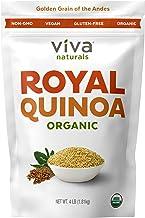 Viva Naturals Organic Quinoa, 4 LB - 100% Royal Bolivian Whole Grain