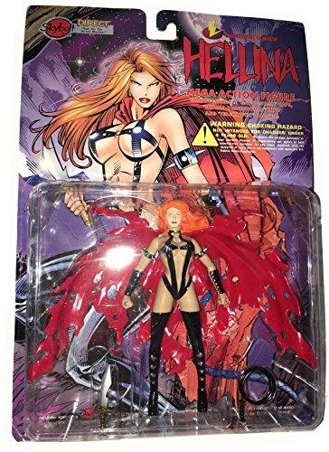 HELLINA Mega Action Figure (Lightning Comics): seltene Figur zur Comicreihe