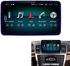 8.4 Inch Round Corner Car Touch Screen, 4GB RAM 64GB ROM Blu-ray HD Car Radio Bluetooth GPS Navigation WiFi Head Unit Screen for Mercedes Benz M ML GL Class W166 X166 2012-2015 NTG4