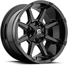FUEL Coupler BL -Gloss BLK Wheel with Painted (20 x 10. inches /8 x 170 mm, 1 mm Offset)