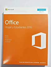 Office Hogar y Estudiantes 2016 - 1 licencia para PC | Windows 10 Windows 8 Windows 7 |