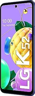 LG K52 Smartphone 64 GB (16,76 cm (6,6 Zoll) LCD Display, Quad Hauptkamera, 3D Sound, MIL STD 810G, Android 10), Blau