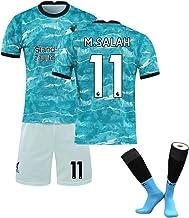 Trajes de Uniformes de fútbol Salah No. 11 Henderson No. 14 Trajes de Entrenamiento de Manga Corta para Hombres Trajes de Entrenamiento Uniformes de Jersey para niños