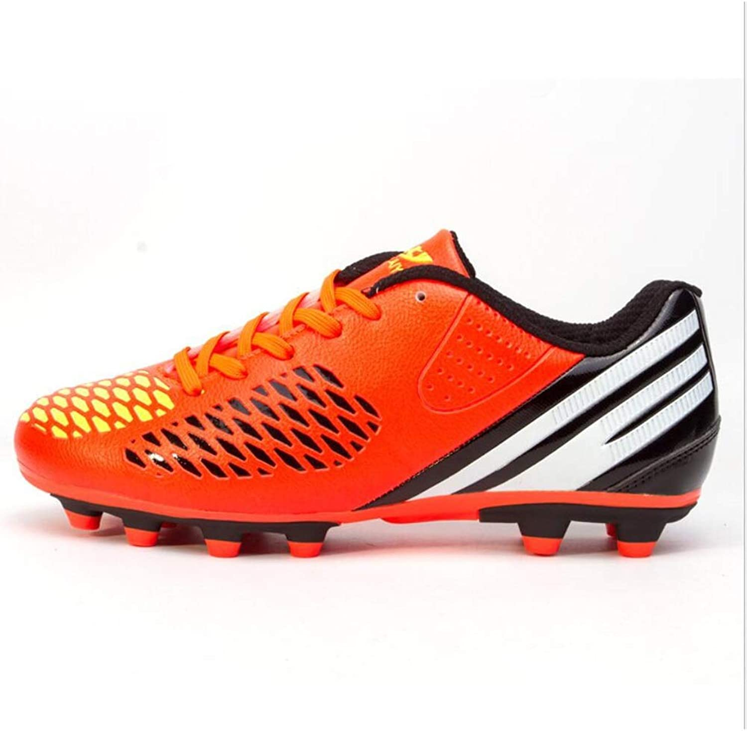 Men's Soccer shoes Soccer Cleats Comfort Football Boots Football Soccer Anti-Slip, Casual Low-Top Women's Sneakers,Non-Slip,Short Spike Training shoes,Grassland
